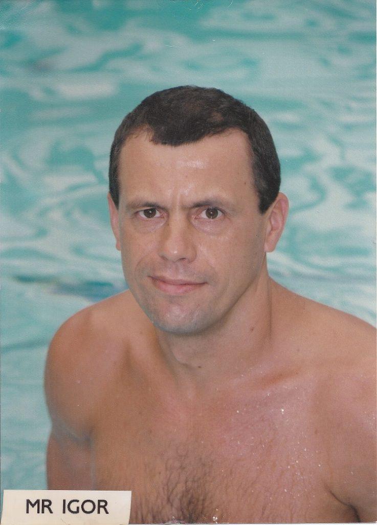 Star Swim Club instructor Mr. Igor