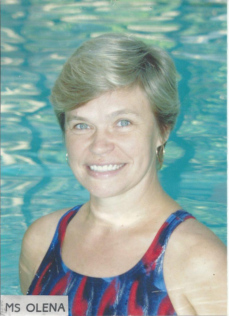 Star Swim Club instructor Ms. Olena
